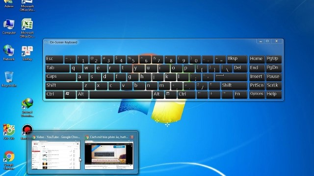 Làm sao để mở bàn phím ảo trên Windows 10?
