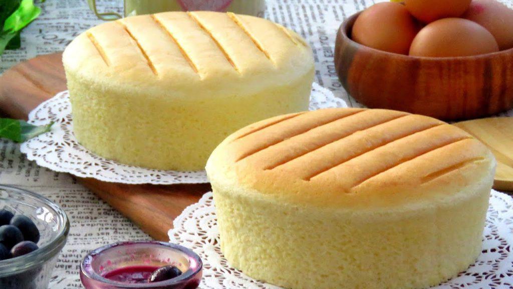 cách làm bánh bông lan, bánh bông lan