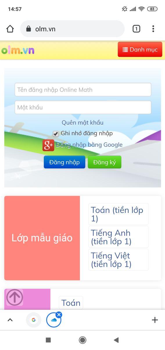 Hướng dẫn cách đăng nhập OLM và học trực tuyến hiệu quả