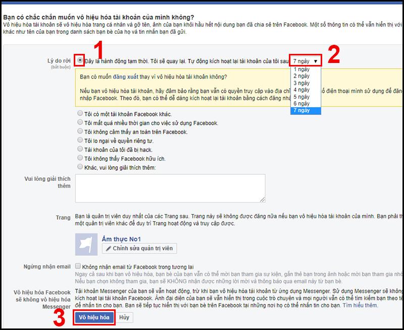 Mách bạn cách khoá tài khoản Facebook tạm thời nhanh chóng trên điện thoại