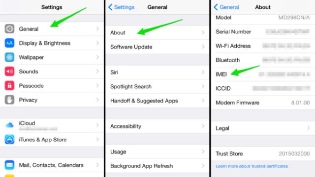 Cách kiểm tra imei iPhone và nguồn gốc xuất xứ sản phẩm