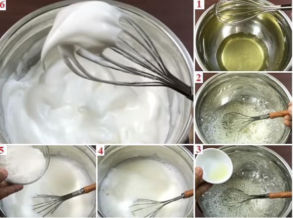 cách làm bánh bông lan, cách làm bánh bông lan bằng nồi cơm điện, cách làm bánh bông lan tại nhà