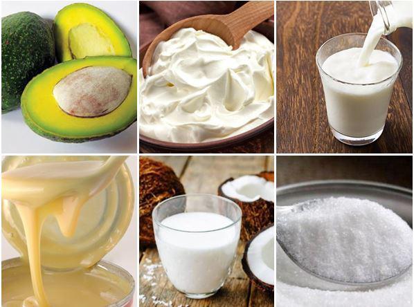 cách làm kem bơ, cách làm kem bơ đậu phộng