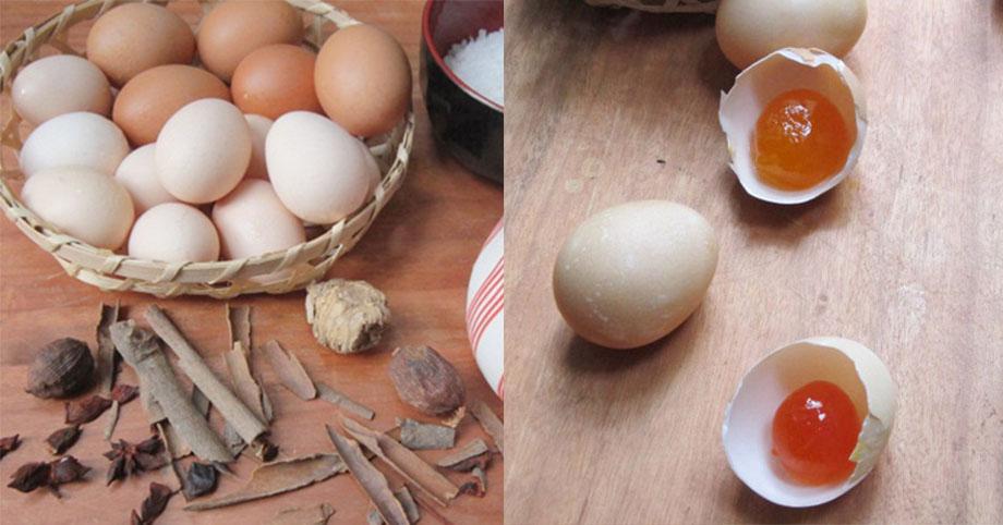 cách làm trứng muối, trứng muối, cách làm trứng muối ướt