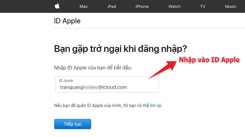 Apple ID, mật khẩu Apple ID, cách lấy lại Apple ID