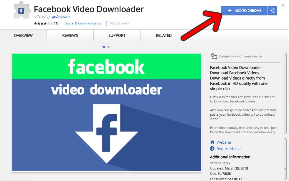 tải video facebook, cách tải video facebook