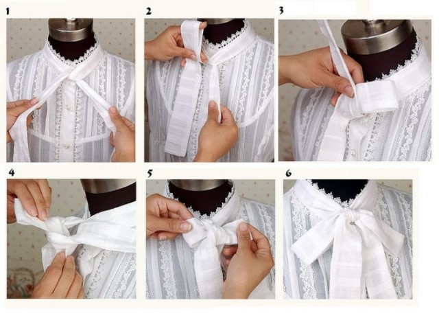 Cách thắt nơ nhằm tạo điểm nhấn ấn tượng trên trang phục