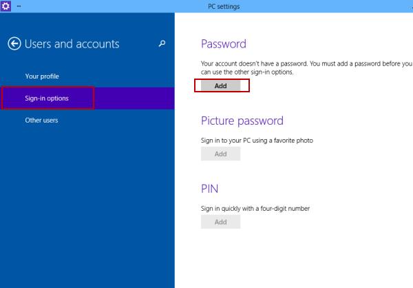cài mật khẩu, mật khẩu máy tính, máy tính win 10