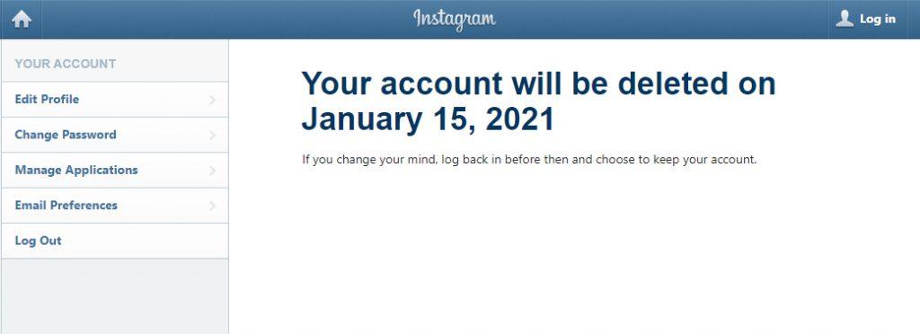 2 cách xoá tài khoản Instagram nhanh chóng, đơn giản nhất