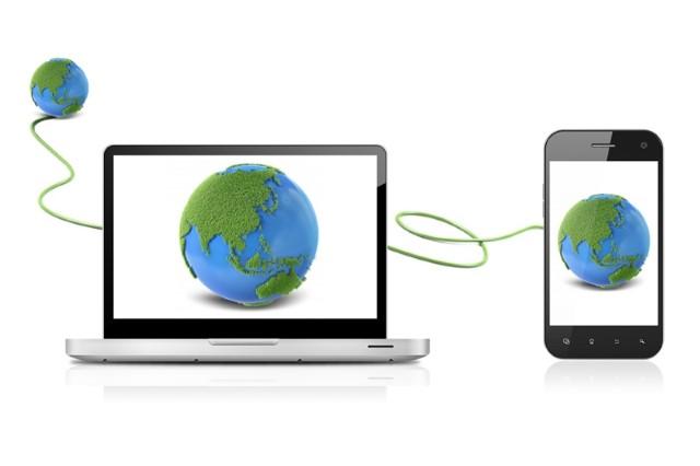kết nối điện thoại với máy tính, kết nối smartphone với pc, kết nối máy tính với điện thoại