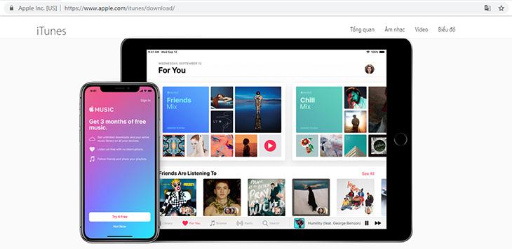 kết nối iphone với máy tính, iTunes, kết nối iphone với macbook