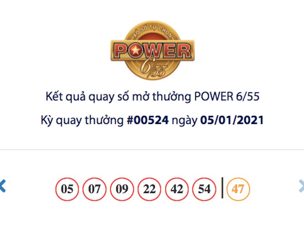 Vietlott 5/1, kết quả xổ số Vietlott hôm nay, xổ số Vietlott Power 6/55