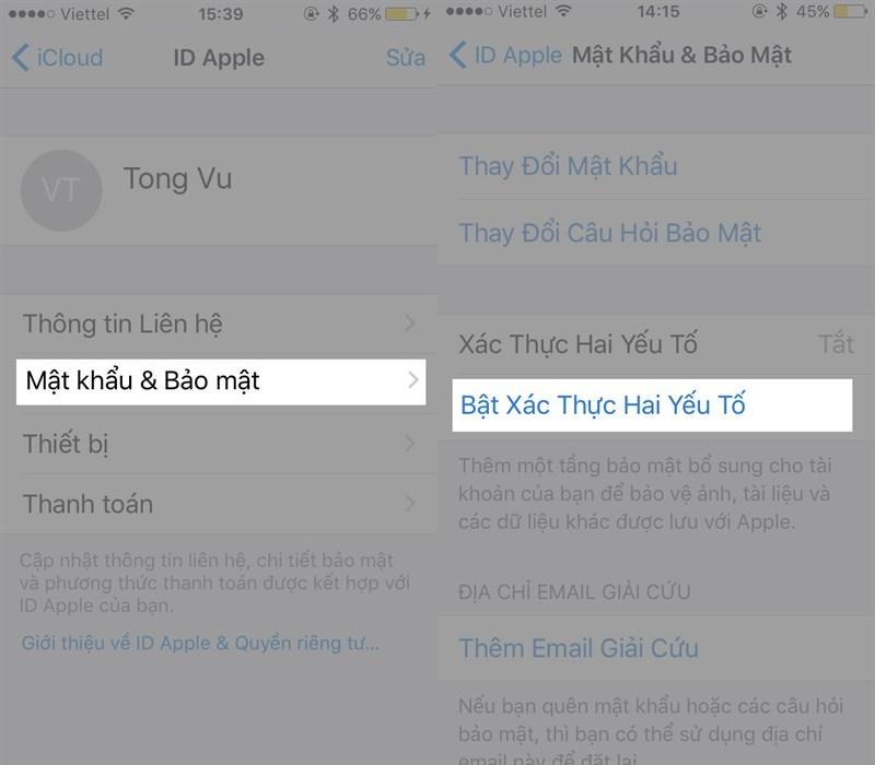khôi phục mật khẩu iCloud, cách khôi phục mật khẩu iCloud