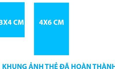 Kích thước ảnh 3 x 4 là bao nhiêu pixel?