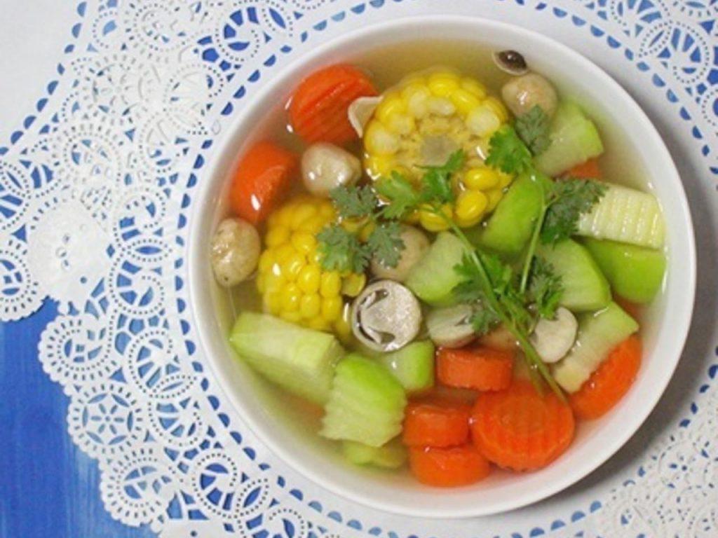 các món chay cho mùa vu lan, các món chay đơn giản,món chay