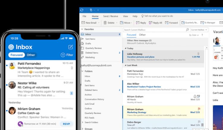 Outlook, Outlook là gì, cách dùng Outlook