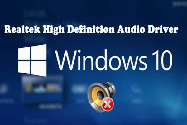 Realtek HD Audio Manager, Realtek