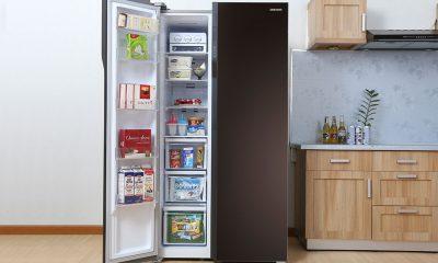 Tủ lạnh side by side- Mang sự hơi thở hiện đại cho cuộc sống gia đình bạn