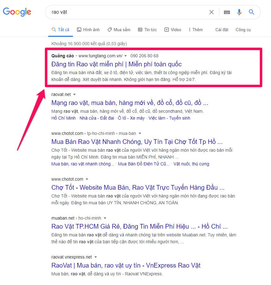 Tung Tăng là gì? Top website Rao vặt miễn phí Online nhanh hàng đầu Việt Nam