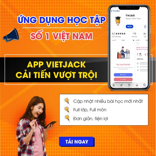 VietJack, website VietJack, ứng dụng VietJack