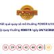 Kết quả xổ số Vietlott hôm nay 24/12: Vietlott Power 6/55 kỳ quay số 00519