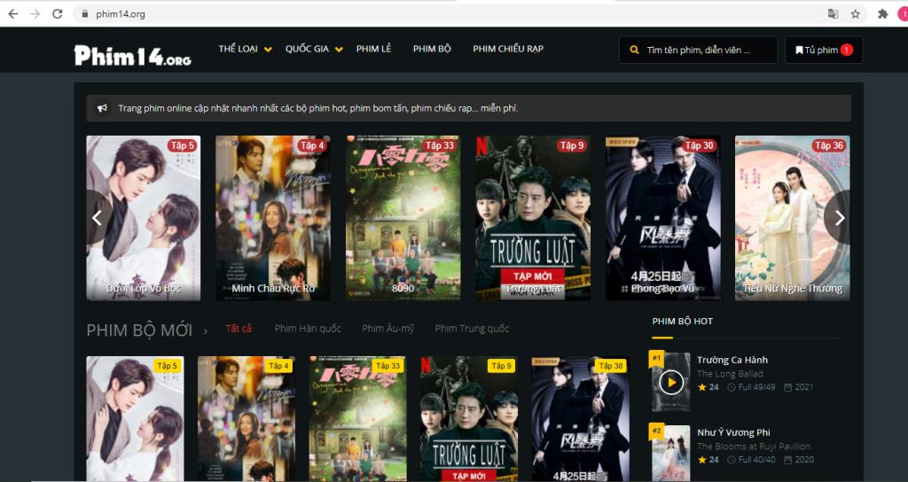 Top 10 website xem phim, website xem phim