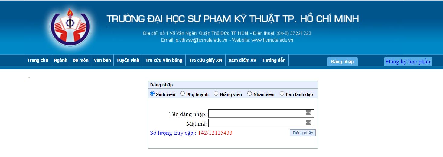 Hướng dẫn đăng nhập Online HCMUTE nhanh nhất bạn nên tham khảo