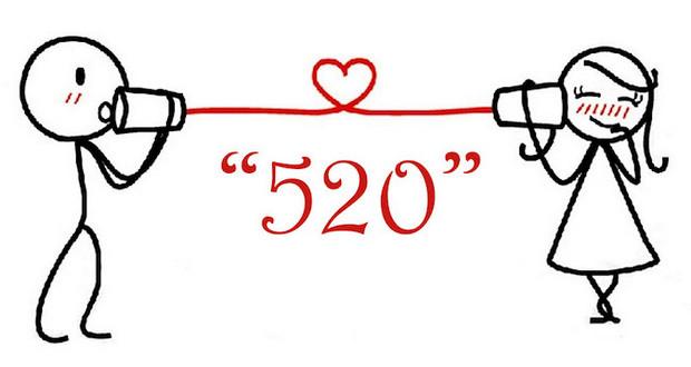 520 là gì, mật mã tình yêu, 5630 là gì, 8084 là gì, 20184 là gì