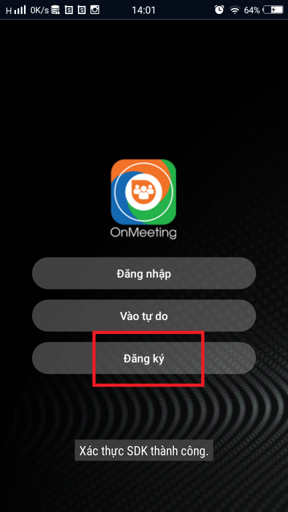 Họp trực tuyến OnMeeting, ứng dụng họp trực tuyến OnMeeting, OnMeeting, tải OnMeeting, cài đặt OnMeeting