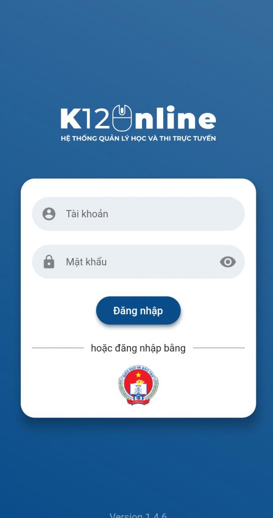 cách đăng nhập k12online, cách sử dụng k12online