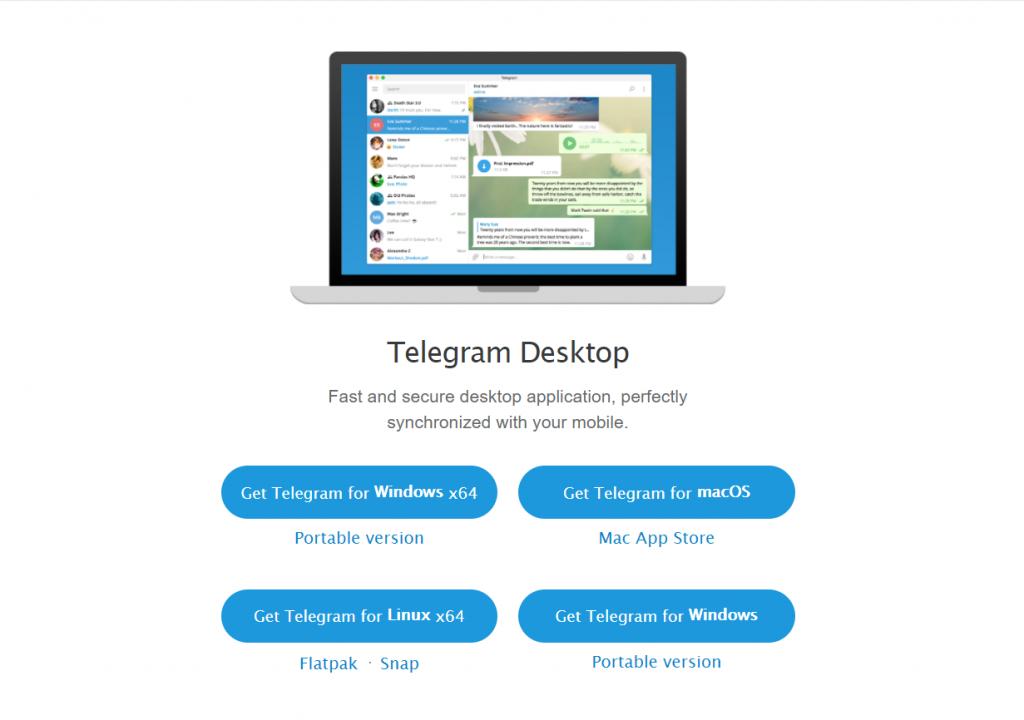 telegram, cách tải telegram cho máy tính