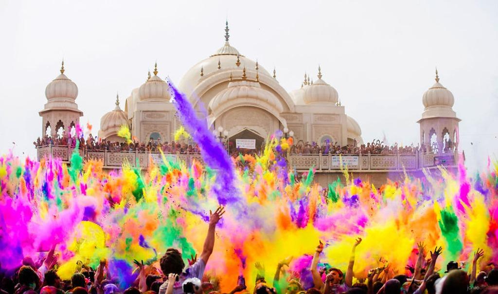 Holi, lễ hội Holi, Lễ hội Holi Ấn Độ, lễ hội Ấn Độ, lễ hội, lễ hội màu sắc Holi, lễ hội màu sắc