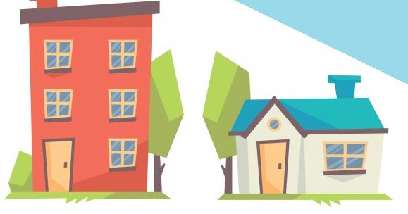 nên mua nhà hay chung cư, có nên mua chung cư không, so sánh nhà đất và chung cư