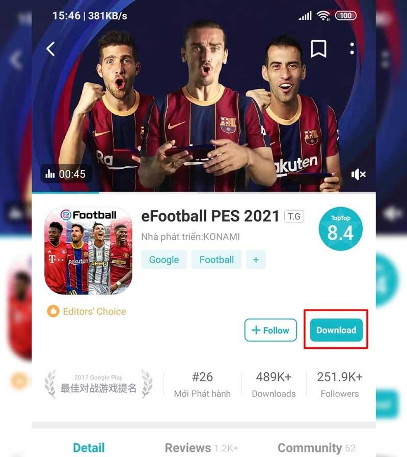 cách tải pes 2021, pes 2021, tải pes 2021, cài đặt pes 2021, eFootball pes 2021, Pes mobile 2021