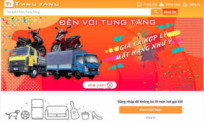 Ra mắt website rao vặt miễn phí đăng tin Tungtang.com.vn