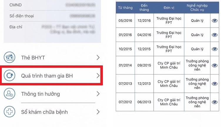 tra cứu BHXH trên ứng dụng VssID, tra cứu BHXH trên VssID, tra cứu BHXH, BHXH, VssID
