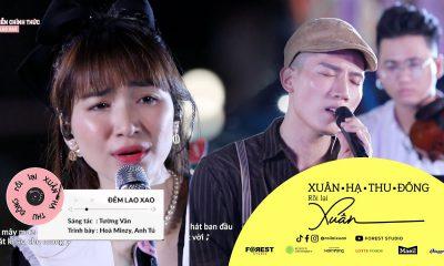 Lời bài hát Đêm lao xao - Hòa Minzy