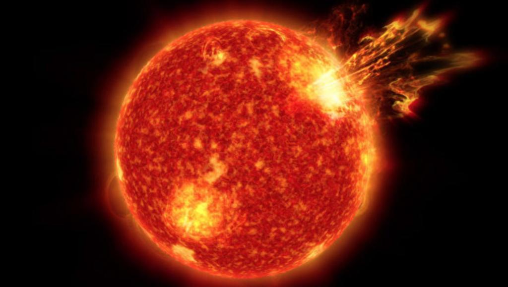 Bão mặt trời là gì, Bão mặt trời, ngày tận thế internet