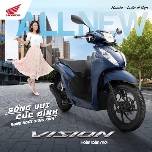 giá xe vision 2021, giá xe vision, xe vision 2021